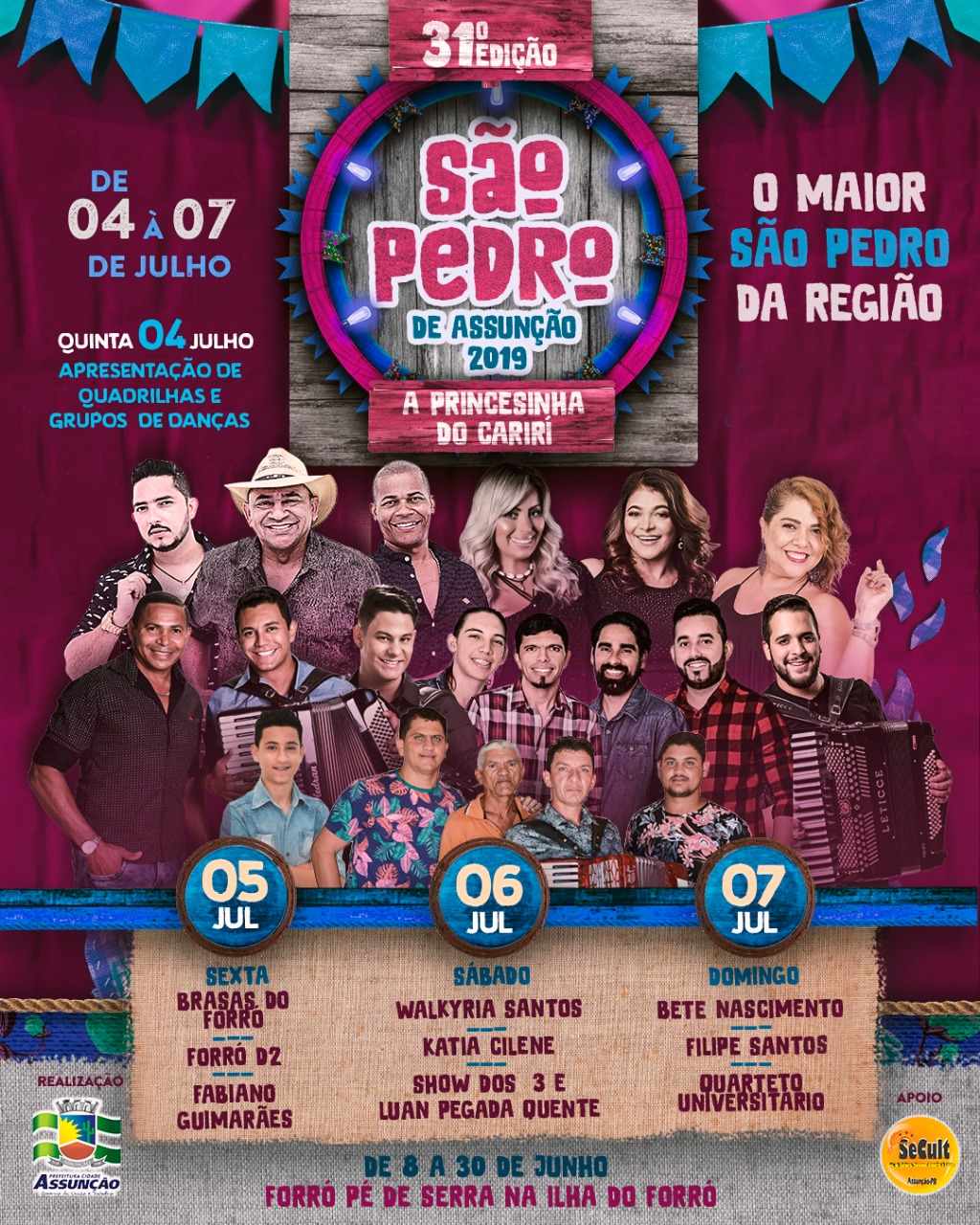 Maior São Pedro da Região edição 2019