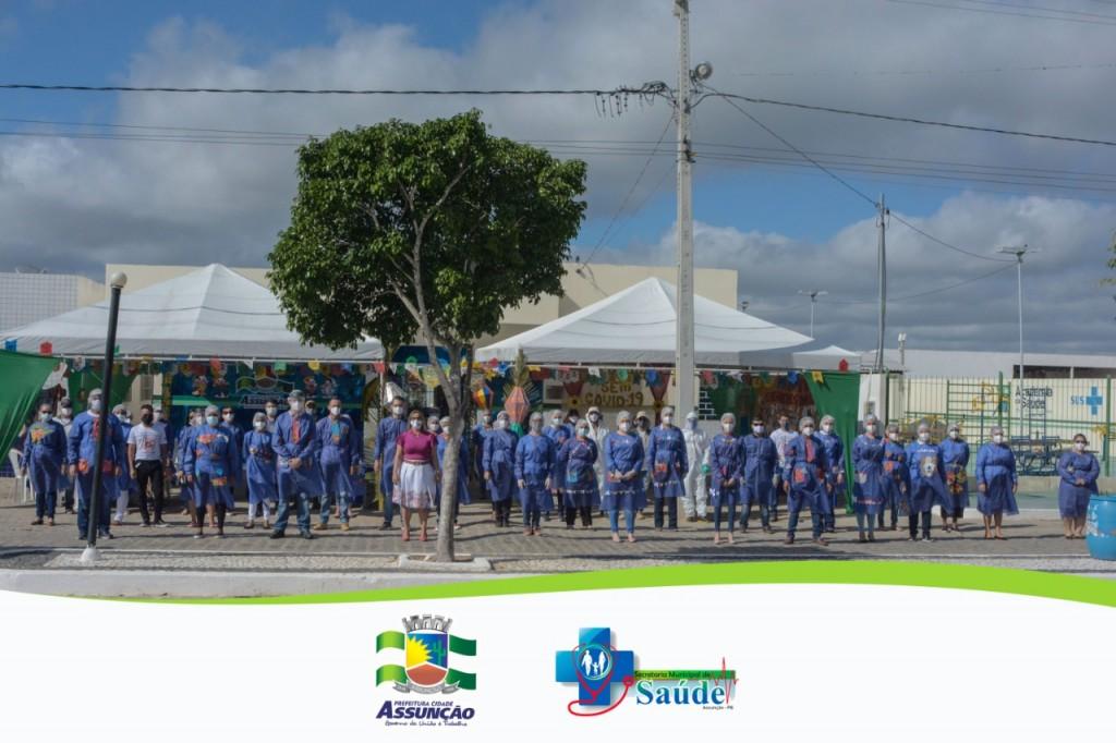 Prefeitura promoveu ação contra a Covid para comemorar Maior São Pedro da Região