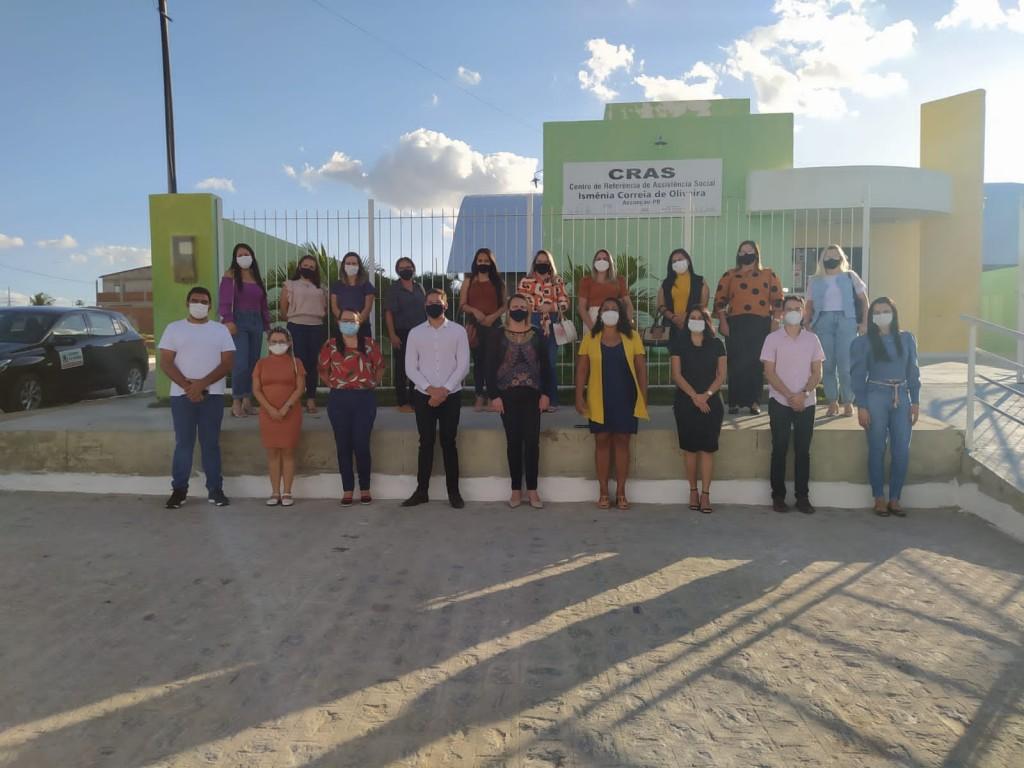 Secretaria do Desenvolvimento Humano da Paraíba realiza visita a Secretaria de Ação Social em Assunção