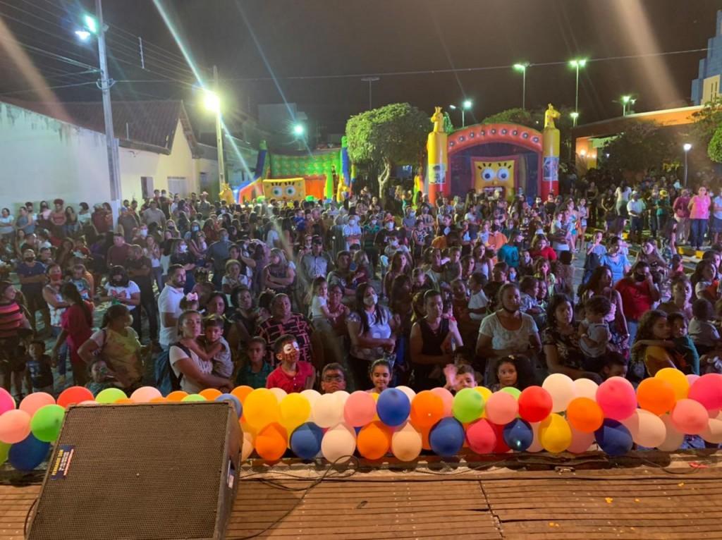 Prefeitura realiza festa marcante em comemoração ao Dia das Crianças em Assunção