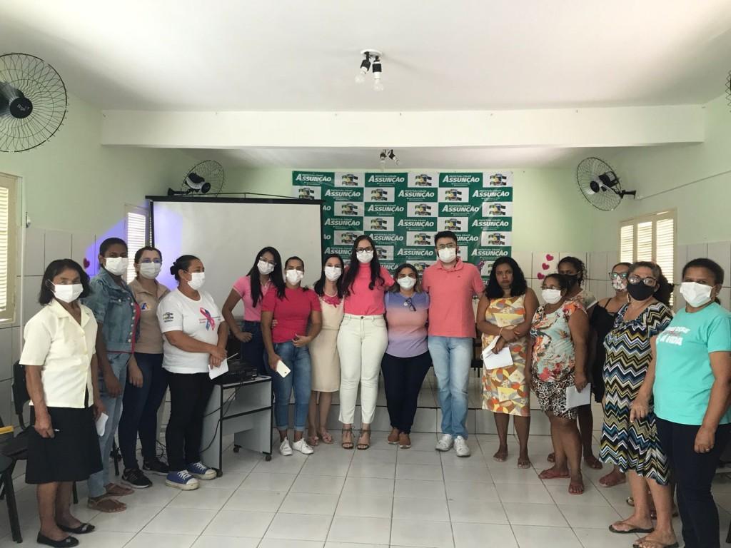 Secretaria de Saúde promove Roda de Conversa sobre Saúde Bucal em atividade de alusão ao Outubro Rosa