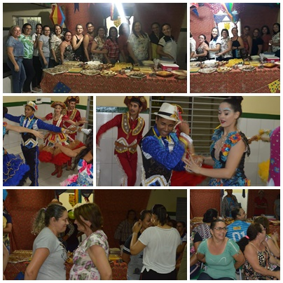 Secretaria lança o ARRAIÁ da educação com diversão e banquete junino
