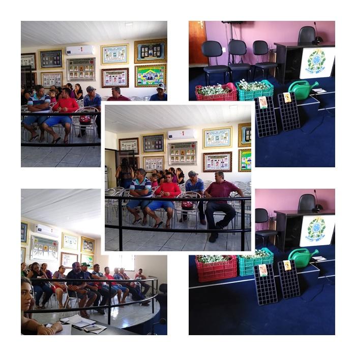 Reunião muito produtiva com associados da Associação rural Asprofrutas.