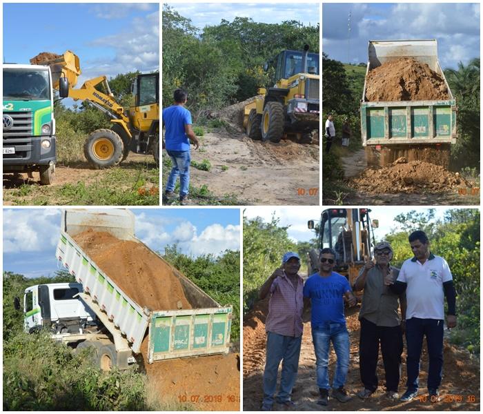 Nova etapa de recuperação de estradas chega a Samambaia