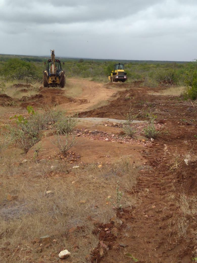 Assunção avança com o trabalho de recuperação das estradas para mais 3 comunidades