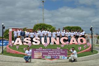 Município de Assunção dá início à campanha do Outubro Rosa e prepara mês de ações de conscientização