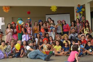 Hospital Geral de Taperoá promove festa para pacientes infantis; Jovens de Assunção se destacam na ação