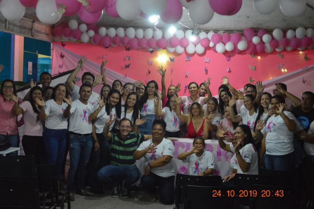 Secretaria de saúde destaca sucesso do outubro rosa
