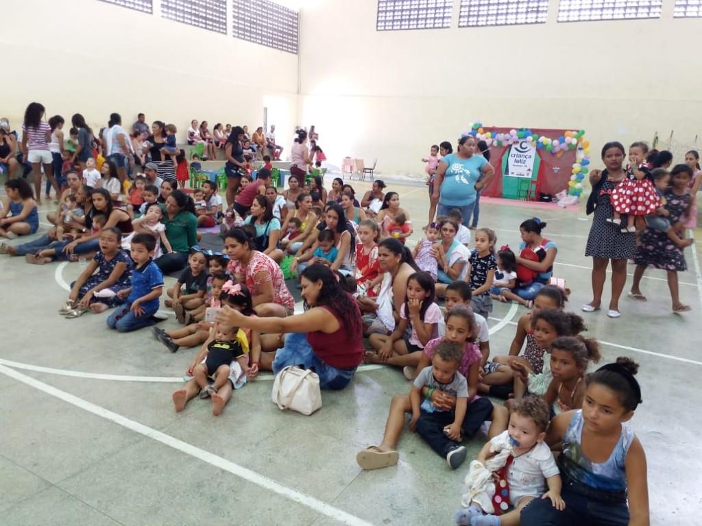 Programa Criança Feliz realiza festa  alusiva ao dia da criança