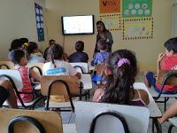 SCFV faz trabalho de conscientização ao outubro rosa para jovens e crianças em Assunção