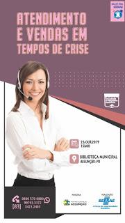 Prefeitura Municipal de Assunção promove palestra em parceria com SEBRAE