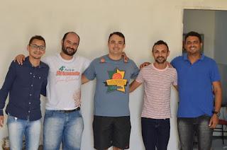 Secretaria de Cultura e Esportes de Assunção recebe visita de membro da Federação de Basquete da Paraíba