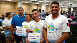 Representantes de Assunção participam do VIII Encontro Nacional de Formação do Programa Água Doce em Natal