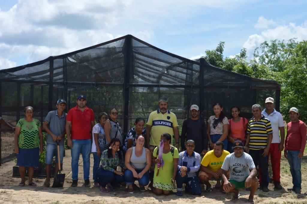 Secretaria de Agricultura e Meio Ambiente de Assunção realiza oficinas e distribuição de mudas