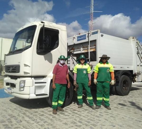 Prefeitura de Assunção desativa lixão e passa a transportar o lixo para local adequado fora do município
