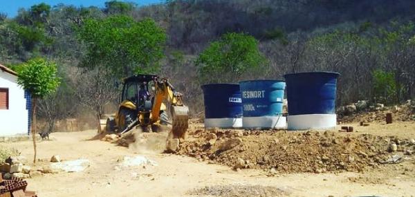 Comunidade da Cajazeiras em Assunção recebe reforço no abastecimento de água