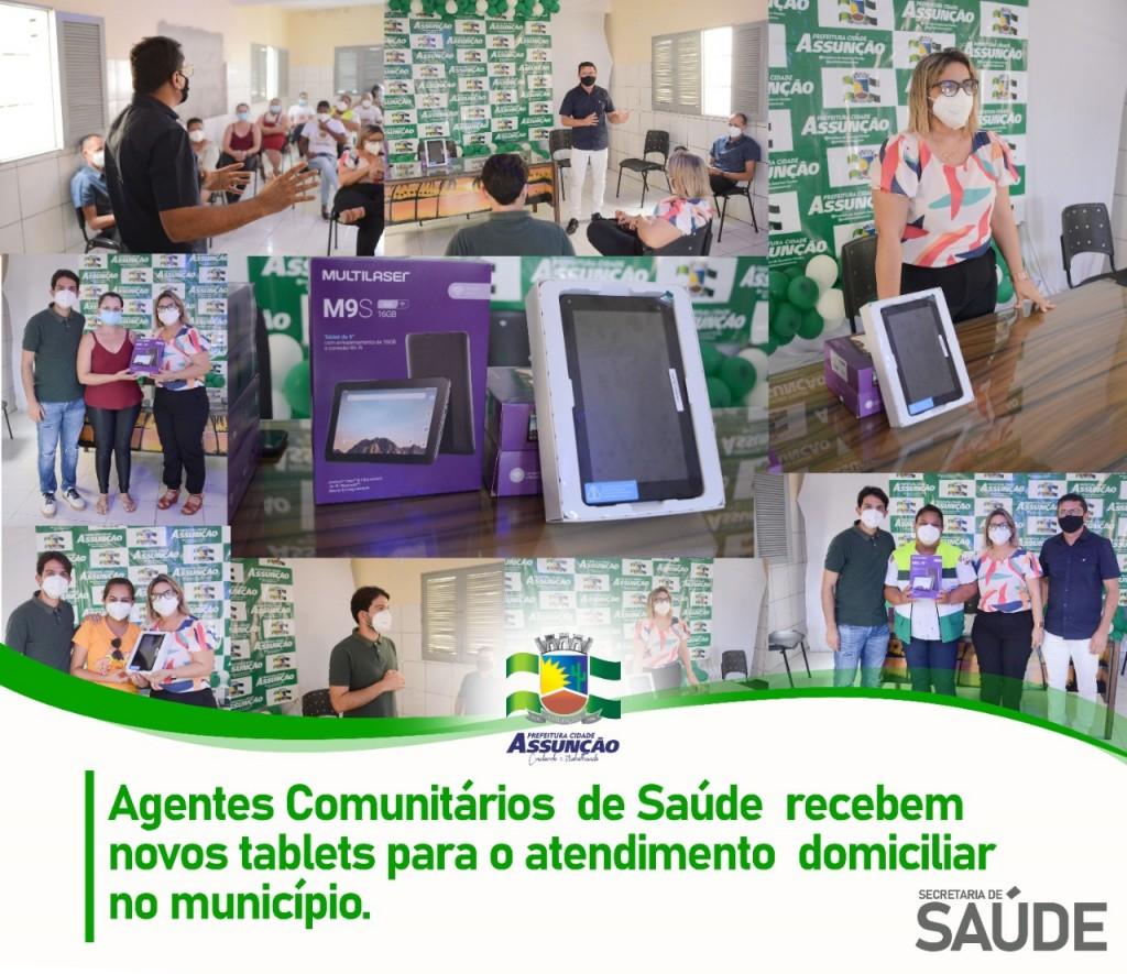 Prefeitura entrega novos tablets para Agentes Comunitários de Saúde